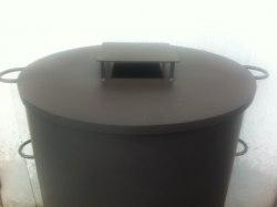 Крышка печи для мусора КМ-2