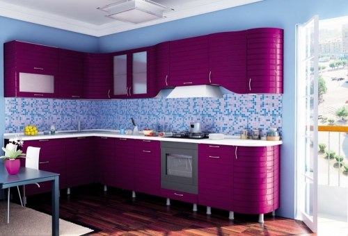 Анастасия Тип-3 кухня (Ежевика)