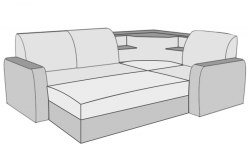 Вояж диван угловой