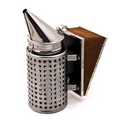 Дымарь пасечный (нержавейка) полностью с термозащитой