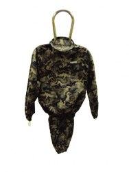 Костюм пчеловода камуфляжный на молнии плотный (куртка + штаны)