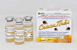 Спаси Пчел биокорм живых культур 1 фл. - 10 мл.