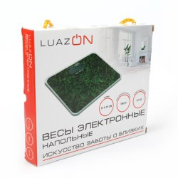 Весы напольные LuazON, до 180 кг