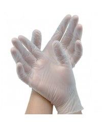 Перчатки медицинские латексные опудренные гладкие