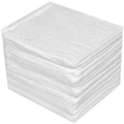 Простынь впитывающая белая 45х90 см