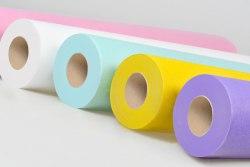 Простыни 0,8х2 м.,с перфорацией в рулоне 100 шт., СМС голубой, белый, розовый, желтый, зеленый ООО ТПК МИЛА