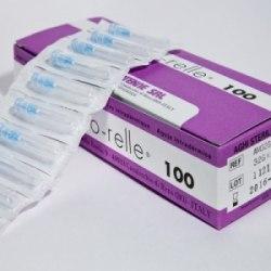 Иглы для мезотерапии MESO-RELLE 31G 0,26 х 4 мм. MESO-RELLE