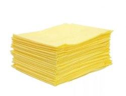 Простыня 70*200 см, оранжевая, желтая, материал СМС 12 гр/м2, 20 шт ООО ТПК МИЛА