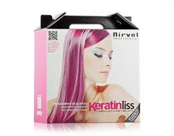 Набор для кератинового выпрямления волос Nirvel Professional Pack Keratin Liss