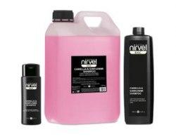 Шампунь дпя объема тонких и безжизненных волос с Хитозаном и Пантенолом Nirvel Professional Shampoo Volume & Texture Chitosan & Panthenol