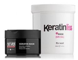 Восстанавливающая кератиновая маска для волос Nirvel Professional Mask №6, 250 мл