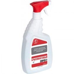 Спиртовое дезинфицирующее средство Бриллиантовый спрей-2 Гигиена Мед ПЭТ-флакон 0,75л., с распылителем