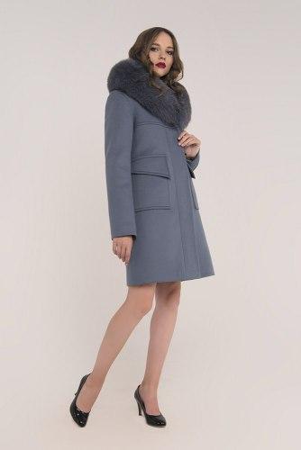 Пальто зимнее с мехом Millennium 590