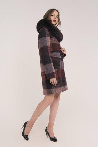 Пальто зимнее с мехом Millennium 590-2