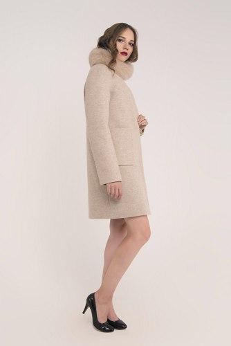 Пальто зимнее с мехом Millennium 591