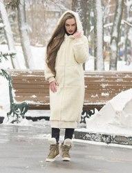 """Пальто """"кокон"""" зимнее Millennium 786"""