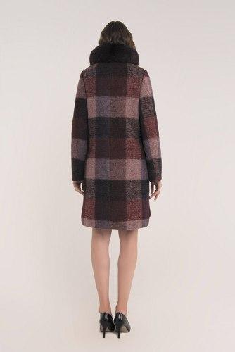 Пальто зимнее с мехом Millennium 779