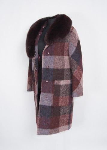 Пальто зимнее с мехом Millennium 520-2