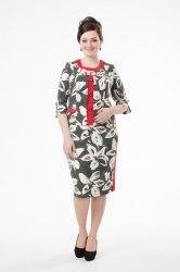 Платье MILORI 1478 Цветы