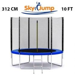 Батут с сеткой Sky Jump 312см
