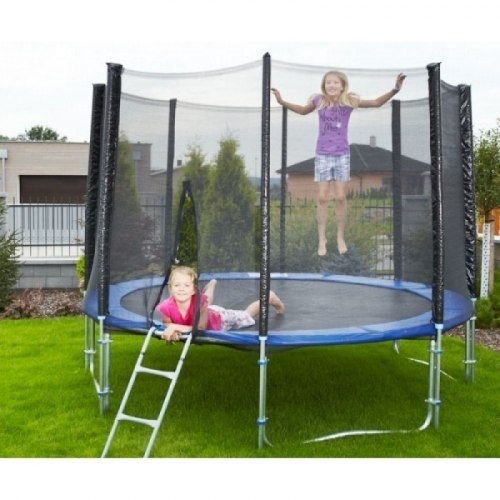 Батут с сеткой Sky Jump 404см