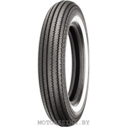 Мотопокрышка Shinko E 270 5.00-16 69S Front/Rear TT White Wall