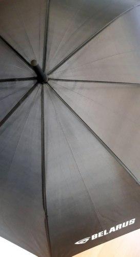 Автоматический зонт с прорезиненной ручкой 99134