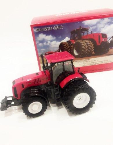 "Сувенир-масштабная модель трактора ""Belarus-3522"" металл 932-01"