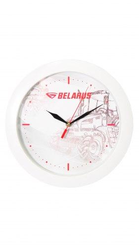 Часы настенные белые 932-182