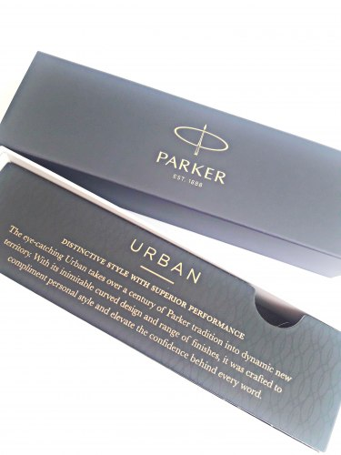 Перьевая ручка PARKER URBAN MUTED BLACK GT 1921593