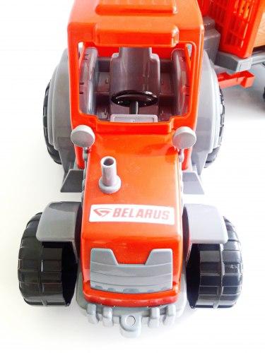 Трактор с полуприцепом-лесовозом 35370