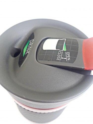 Термокружка BYRON RED с логотипом 1000-0577