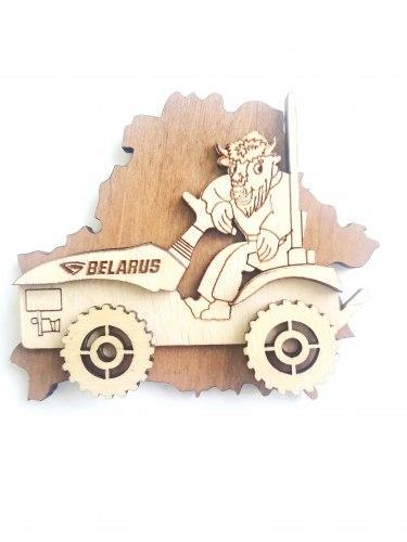 Магнит фирменный Беларус 152 932-191