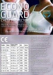 Защита груди и живота женская Allstar