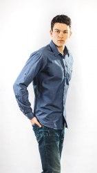 Мужская сорочка Надэкс 657012И