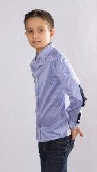 Сорочка для мальчиков младшей школьной группы Озорник 556013И