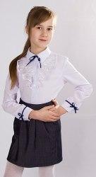 Блузка для девочек младшей школьной группы Модница 795011И
