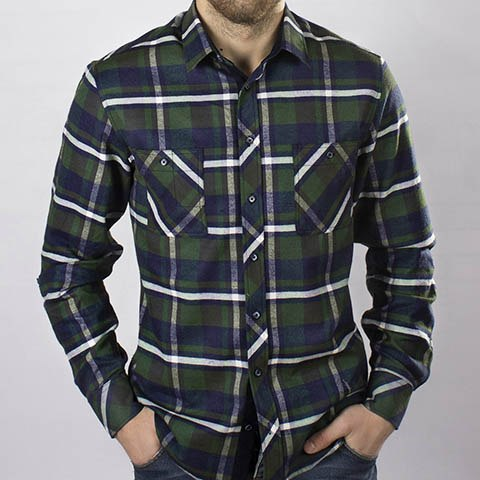 Мужская сорочка Надэкс 445074И