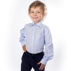 Сорочка для мальчиков младшей школьной группы Озорник 533013И