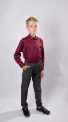 Сорочка для мальчиков младшей школьной группы Озорник 537072И