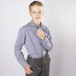 Сорочка для мальчиков младшей школьной группы Озорник 974013И