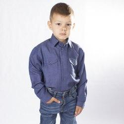 Сорочка для мальчиков дошкольной группы Озорник 658012И