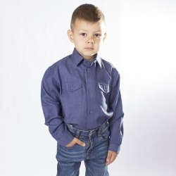 Сорочка для мальчиков дошкольной группы Озорник 658022И