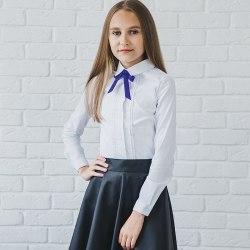 Блузка для девочек младшей школьной группы Модница 031021