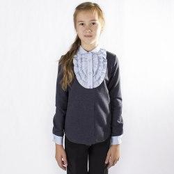 Блузка для девочек младшей школьной группы Модница 045022