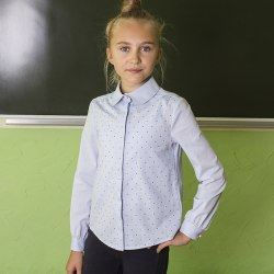 Блузка для девочек младшей школьной группы Модница 49015