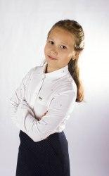 Блузка для девочек младшей школьной группы Модница 997015