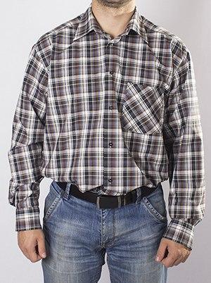 Мужская сорочка Надэкс 124084