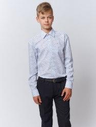 Сорочка для мальчиков подростковой группы Надэкс 954025И