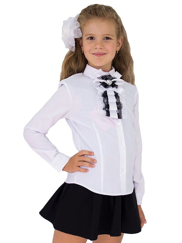 Школьные Блузки Для Девочек Купить Интернет